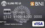 BNI-ILUNI FE UI Card Platinum