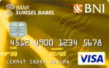 BNI-Bank SumselBabel Card Gold