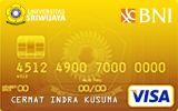 BNI-Universitas Sriwijaya Card Gold