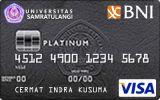 BNI-Universitas Sam Ratulangi Card Platinum