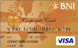 BNI Corporate Card Gold