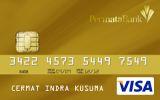 PermataReward Card Visa Gold
