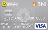 BNI-Universitas Sriwijaya Card Silver