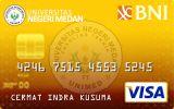BNI-Universitas Negeri Medan Card Gold