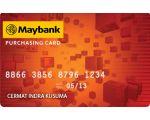 Kartu Kredit Maybank Purchasing