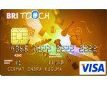 Kartu Kredit BRI Touch Visa Gold