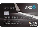 Kartu Kredit ANZ Travel Visa Signature