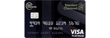 Standard Chartered Visa Black Platinum