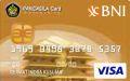 BNI-Pancasila Card Gold