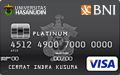 BNI-Universitas Hasanuddin Card Platinum