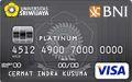 BNI-Universitas Sriwijaya Card Platinum