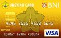 BNI-UNSYIAH Card Gold
