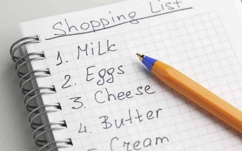 Buat Daftar Belanja
