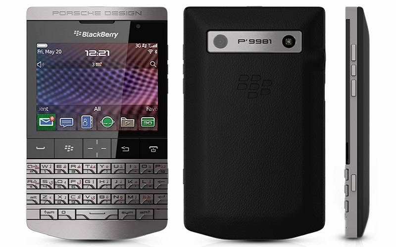 10 HP Termahal di Dunia, Blackberry Porsche Design P9981