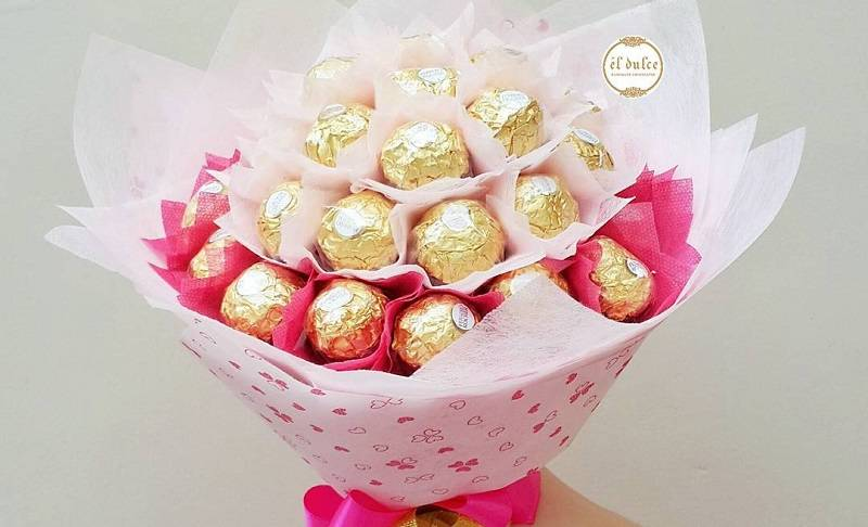 buket coklat
