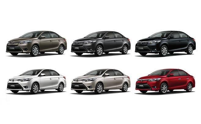 Warna Toyota Vios