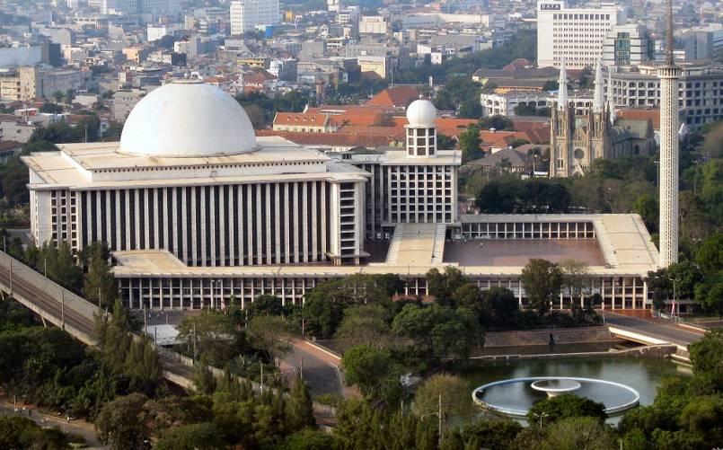 Masjid Istiqal, Indonesia - Masjid Terbesar dan Terindah di Dunia