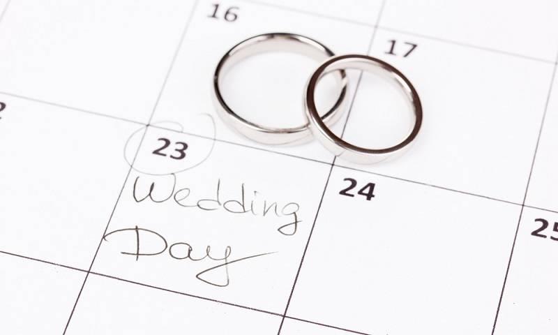 Tanggal Pernikahan yang Tepat