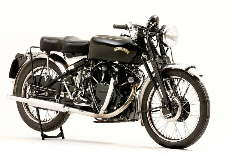 Legendary British Vintage Black via motosuits.co.uk