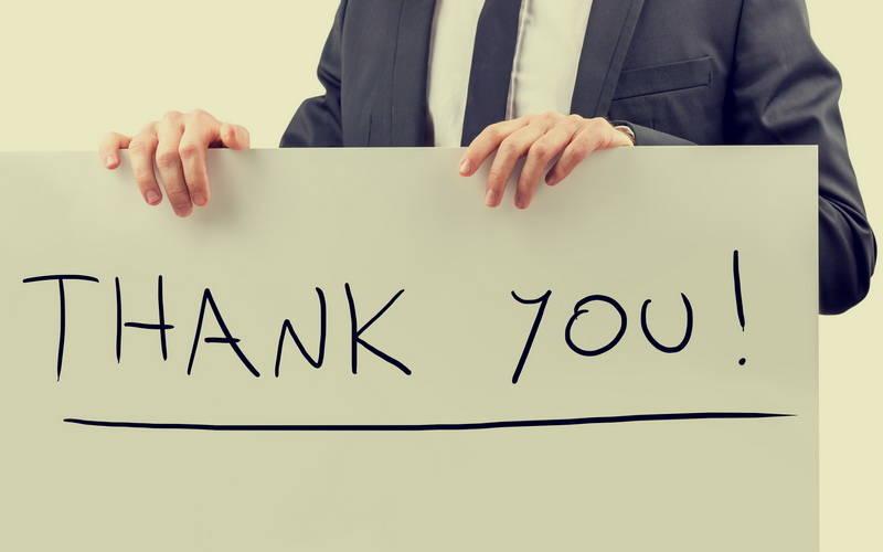 Jangan Lupa Ucapkan Terima Kasih