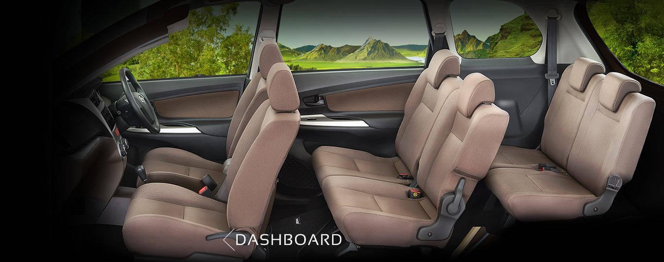 Interior Daihatsu Xeni