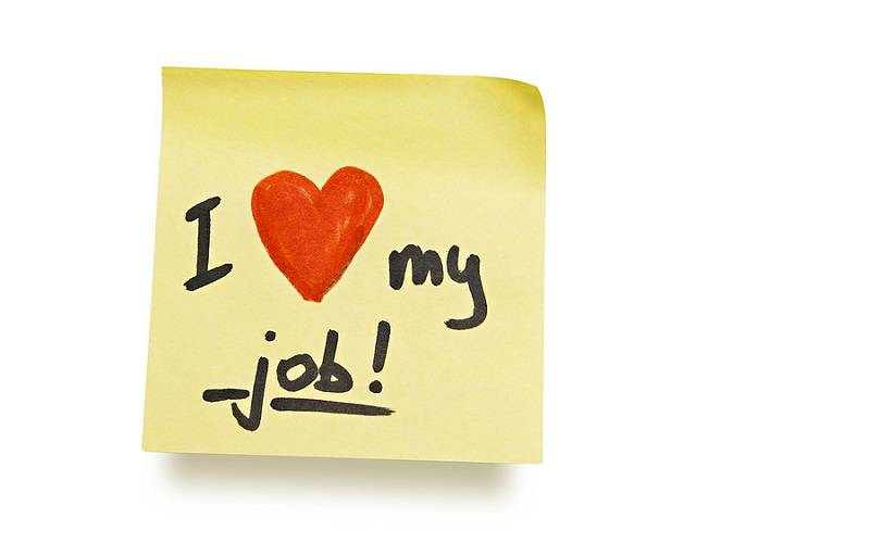 Cintailah Pekerjaan Anda