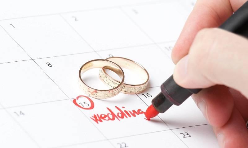 Tanggal Pernikahan yang Pas