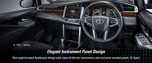 Interior Toyota Innova