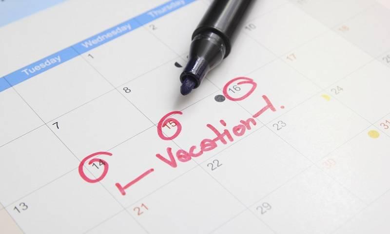 jadwal liburan