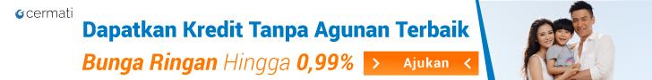 Kredit Tanpa Agunan Bunga Rendah 0.99%