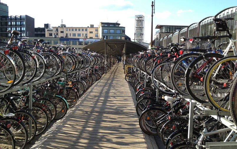 Bersepeda di Kopenhagen