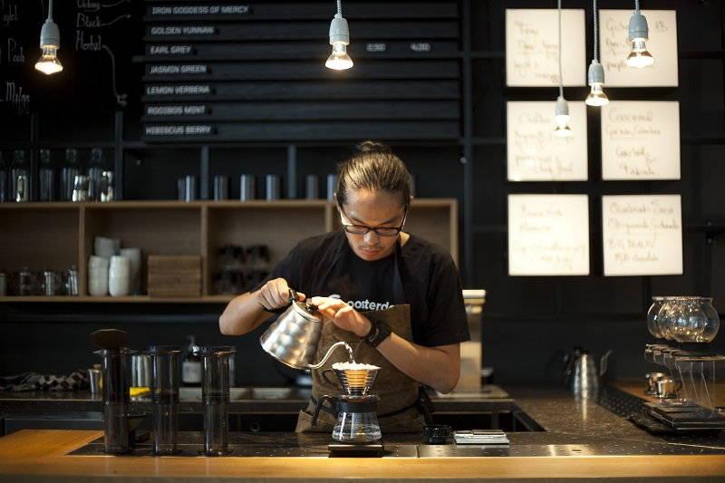 Menjadi Barista di Cafe via sprudge.com