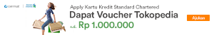 Detail Page - Promo Tokopedia x Standard Chartered