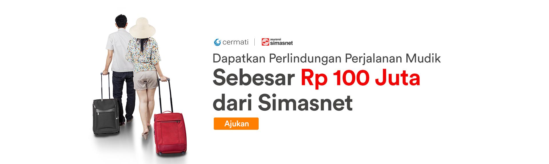 Homepage Sliding - Asuransi Simasnet Mudik 100 juta